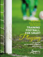 Training football for smart playing