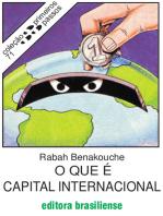O que é capital internacional