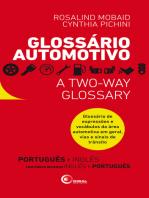 Glossário Automotivo: Glossário de expressões e vocábulos da área automotiva em geral, vias e sinais de trânsito