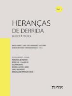 Heranças de Derrida (vol. 1)