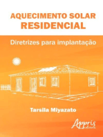 Aquecimento solar residencial: diretrizes para implantação