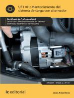 Mantenimiento del sistema de carga con alternador. TMVG0209