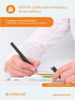 Calificación energética de los edificios. ENAC0108