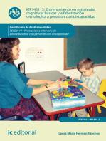 Entrenamiento en estrategias cognitivas básicas y alfabetización tecnológica a personas con discapacidad. SSCE0111