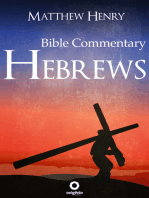 Hebrews - Complete Bible Commentary Verse by Verse