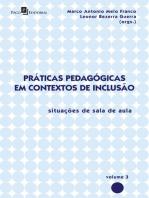 Práticas Pedagógicas em Contextos de Inclusão: Situações de Sala de Aula, vol. 3