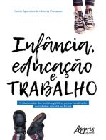 Infância, Educação e Trabalho