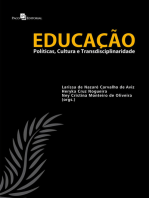 Educação: Políticas, Cultura e Transdisciplinaridade