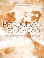 Pesquisa em Educação: inquietações e desafios