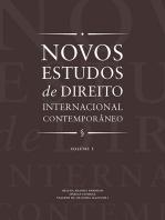Novos estudos de direito internacional contemporâneo - Vol. 1