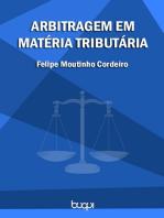 Arbitragem em Matéria Tributária
