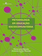Metodologia em educação sociocomunitária