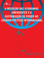 A inserção das economias emergentes e a distribuição de poder no cenário político internacional