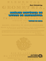 Análise histórica de livros de matemática