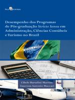 Desempenho dos Programas de Pós-graduação Stricto Sensu em Administração, Ciências Contábeis e Turismo no Brasil