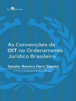 As convenções da OIT no ordenamento jurídico brasileiro