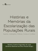 Histórias e memórias da escolarização das populações rurais