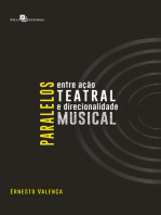 Paralelos Entre Ação Teatral e Direcionalidade Musical