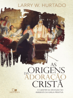 As origens da adoração cristã