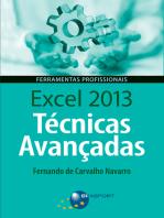 Excel 2013 Técnicas Avançadas