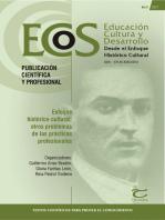 Enfoque histórico‐cultural: outros problemas de las prácticas profesionales - Ecos 3