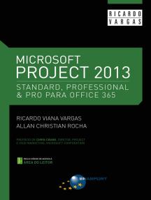 Microsoft Project 2013 Standard - Professional & Pro para Office 365