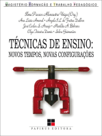 Técnicas de ensino: Novos tempos, novas configurações