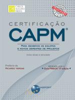Certificação CAPM® - Para Membros de Equipes e Novos Gerentes de Projetos