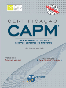 Certificação CAPM® - Para Membros de Equipes e Novos Gerentes de Projetos: Inclui dicas e simulados