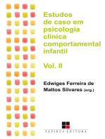 Estudos de caso em psicologia clínica comportamental infantil - Volume II