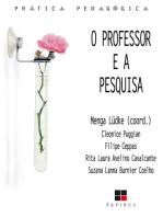 O Professor e a pesquisa