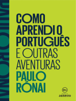 Como aprendi o português e outras aventuras