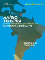 Anísio Teixeira e o Conselho de Educação Superior nas Repúblicas Americanas