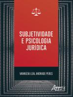 Subjetividade e Psicologia Jurídica
