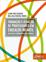 Formação e Atuação de Professores em Educação Infantil