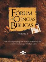 Fórum de Ciências Bíblicas 1