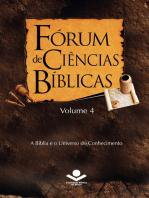 Fórum de Ciências Bíblicas 4