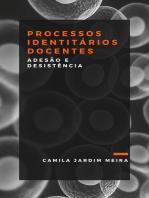 PROCESSOS IDENTITÁRIOS DOCENTES