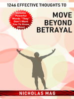 1246 Effective Thoughts to Move Beyond Betrayal