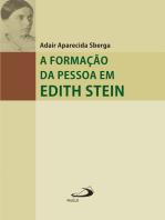 A formação da pessoa em Edith Stein