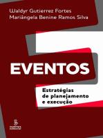 Eventos: Estratégias de planejamento e execução