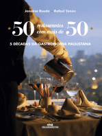 50 Restaurantes com Mais de 50: 5 Décadas da Gastronomia Paulistana