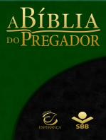 A Bíblia do Pregador - Almeida Revista e Atualizada: Com esboços para sermões e estudos bíblicos