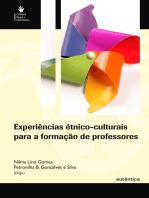 Experiências étnico-culturais para a formação de professores