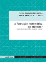 Formação matemática do professor