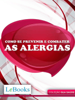 Como se prevenir e combater as alergias