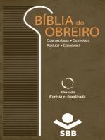 Bíblia do Obreiro - Almeida Revista e Atualizada