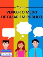 Como vencer o medo de falar em público