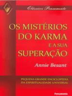 Os Mistérios do Karma e Sua Superação