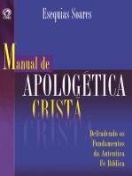 Manual de Apologética Cristã: Defendendo os Fundamentos da Autêntica Fé Bíblica